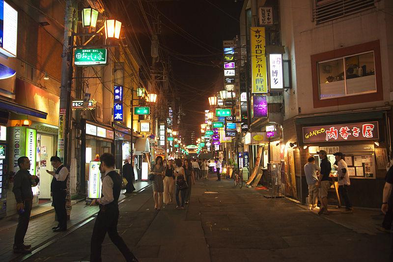 夜の街イメージ