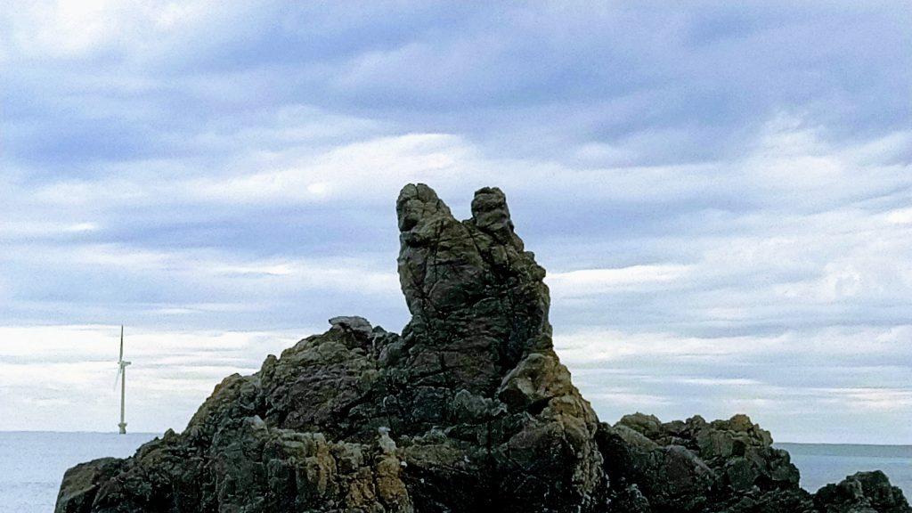 犬岩 近づく