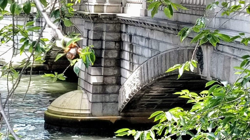 二連アーチ橋